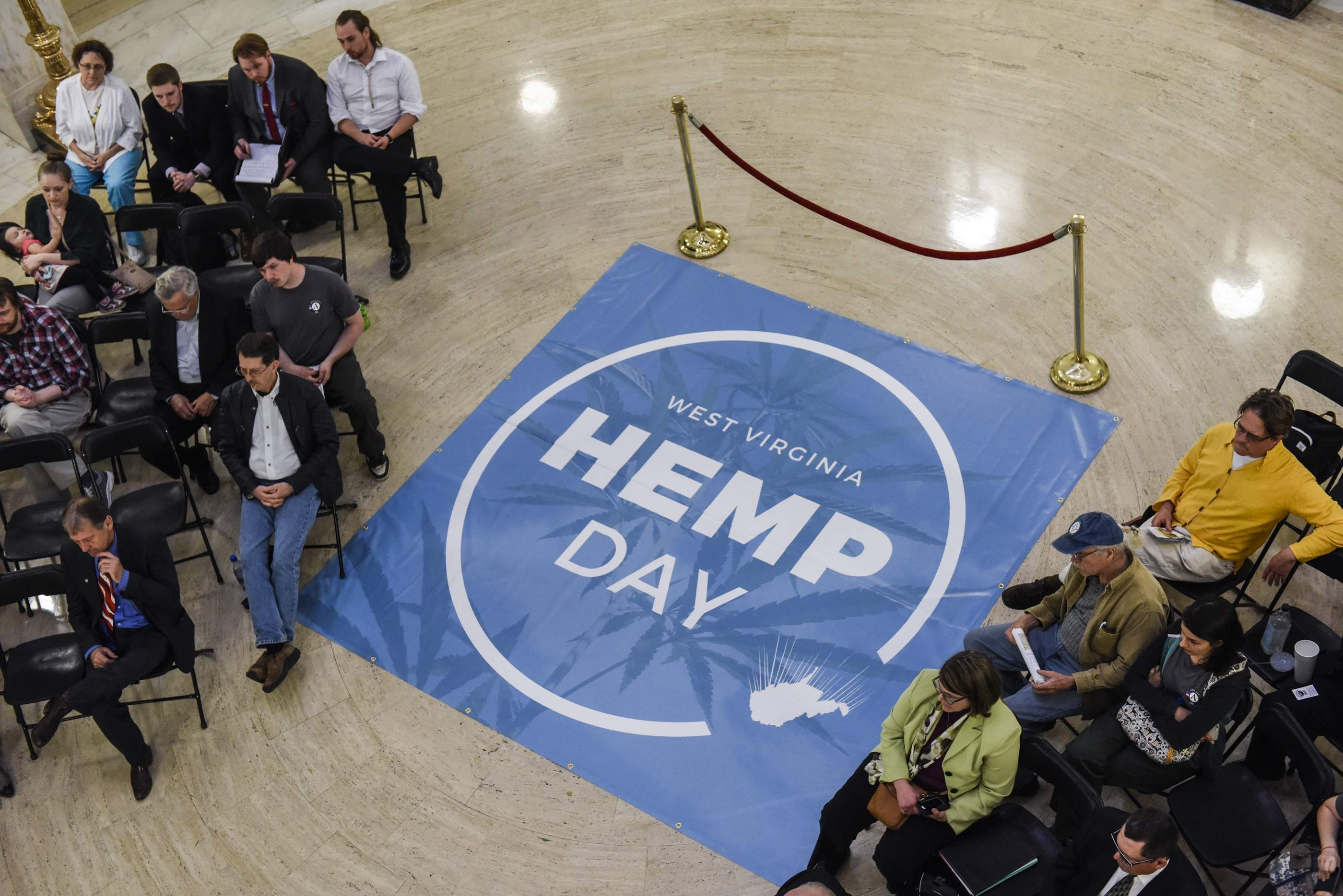 PHOTOS: Hemp Day at Capitol Aims to Grow Support for Versatile Plant
